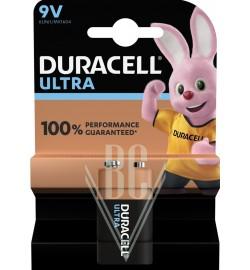 Duracell Ultra Power Battery 9V E-Block 6LR61 MX1604, 1 Pack