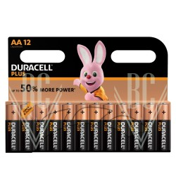 Duracell Plus Power Battery AA Mignon LR6 MN1500, 12 Pack