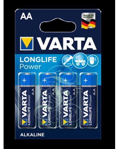 Varta Longlife Power Battery AA Mignon LR6 4906, 4 Pack