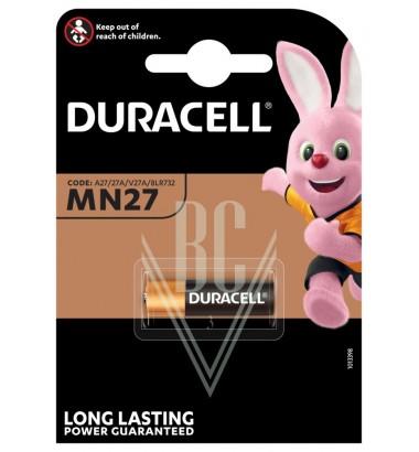 Duracell Battery MN27 LR27 8LR732 12V, 1 Pack