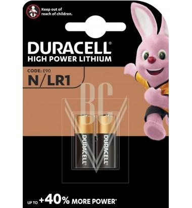Duracell Battery N Lady LR1 MN9100 1,5V, 2 Pack