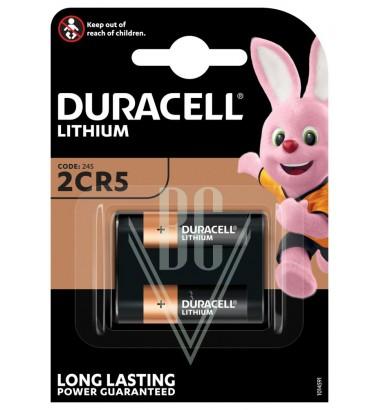 Duracell Camera Battery 245 2CR5 6V, 1 Pack