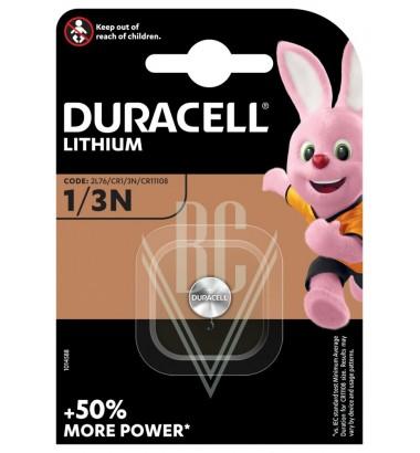 Duracell Camera Battery CR1/3N CR11108 2L76 K58L 3V, 1 Pack