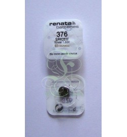 Renata Watch Battery 376 SR66W SR626W SG4 LR66, 1 Pack